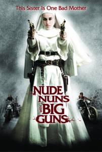 nude nun with big guns